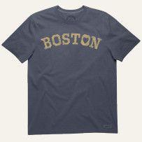 Womens True Blue Boston Love Tee