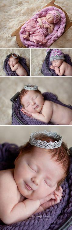 Mandy Marie Photography |des moines newborn photographer| newborn girl