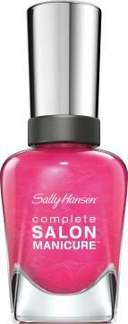 Complete Salon Manicure Nail Color in Back to the Fuchsia by Sally Hansen