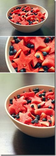 star watermelon pnterest Fourth Of July Food, 4th Of July Party, July 4th, Patriotic Party, Fourth Of July Recipes, Fourth Of July Cakes, Patriotic Desserts, Watermelon Fruit Salad, Fruit Salads