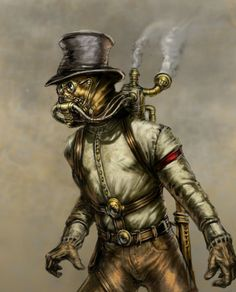 "Steampunk is a genre which originated during the 1980s and early 1990s and incorporates elements of science fiction, fantasy, alternate history, horror, and speculative fiction. It involves a setting where steam power is widely used—whether in an alternate history such as Victorian era Britain or ""Wild West""-era United States, or in a post-apocalyptic time —that incorporates elements of either science fiction or fantasy."