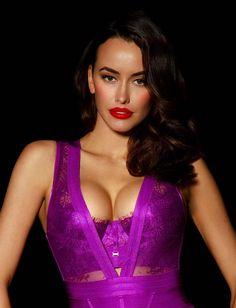 Lingerie Australia, Plunge Bodysuit, Lingerie Collection, Lingerie Set, Orchids, Corset, Perfect Fit, Fashion Outfits, Formal Dresses