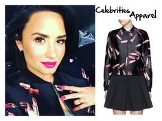 """""""Demi on Instagram"""" by mixerfromsweden ❤ liked on Polyvore featuring Giamba"""