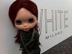 Our correspondent Goo at White Milano #blythe