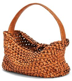 Cool Messenger Bags, Knitted Bags, Basket Weaving, Straw Bag, Purses And Bags, Knit Crochet, Knitting, Stylish, Loewe