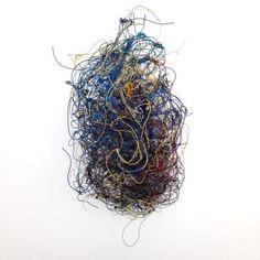 "Alan Saret (American, b.1944), ""Infinity Cluster"", metal wire sculpture, circa 1980"