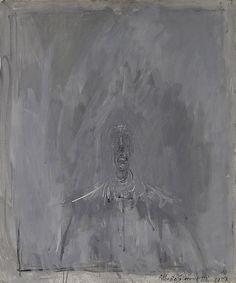 Alberto Giacometti (1901-1966) Figure grise (Tête en gris), 1957
