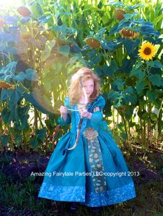 Merida Inspired Costume Dress for Halloween by 7dwarfsworkshop, $60.00 it's on sale now for $55