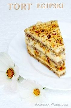 Arabeska : Tort egipski Polish Desserts, Polish Recipes, How To Make Cake, Food To Make, European Dishes, Pinterest Cake, Hazelnut Cake, Cakes And More, Yummy Cakes