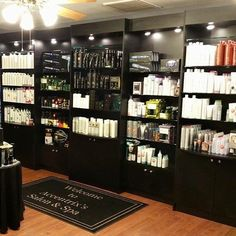 Paul Mitchell Focus Salon Retail display with storage