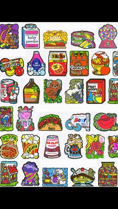 80s scratch and sniff stickers