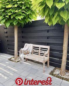 Terrace black fence national, # nationwide black fence, - All About Backyard Garden Design, Backyard Fences, Garden Fencing, Terrace Garden, Backyard Landscaping, Wood Fence Design, Modern Fence Design, Rustic Home Design, Privacy Screen Outdoor