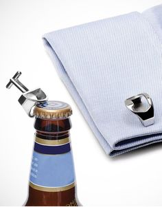 #cufflinks bottle opener