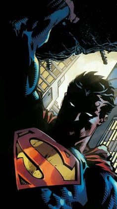 Superman The Man of Steel Superman Artwork, Superman Wallpaper, Batman Vs Superman, Superman Pictures, Hero Wallpaper, Arte Dc Comics, Marvel Comics, Dc Universe, Comic Books Art