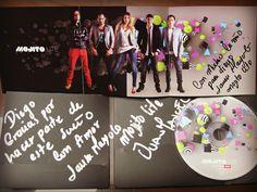 Mi CD de Mojito Lite Autografiado y con Dedicatoria!!