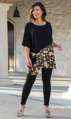 Bianca Tunic/ MiB Plus Size Fashion for Women