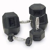 Found it at Wayfair - Rubber Coated Hex Dumbbells (Set of 2)