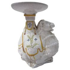 Check out this item at One Kings Lane! Italian Majolica Plant Stand