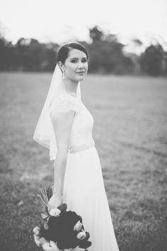 Monique Italian Chantilly lace gown with silk Georgette skirt from Bertossi Brides at Paddington Weddings. www.paddingtonweddings.com.au