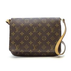 Louis Vuitton Musette tango short Monogram Shoulder bags Brown Canvas M51257