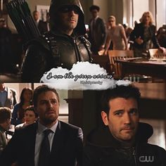 Look how sad Oliver was :( .... I miss tommy so much 🖤🖤🖤 - Honestly, this episode was great! I loved it so much 🖤🖤 - * • * #stemily… Tommy Merlyn, Oliver Queen Arrow, Stephen Amell Arrow, Team Arrow, Funny Disney Memes, Emily Bett Rickards, Supergirl And Flash, Dc Legends Of Tomorrow, Green Arrow