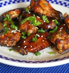 Chinese Honey-Soy Braised Chicken Wings Recipe!  The sticky and sweet in one...great flavor