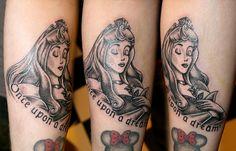 Sleeping beauty - The forbidden line - Tattoo studio Artist: Maarten Dedroog