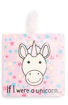 Jellycat+'If+I+Were+a+Unicorn'+Board+Book+available+at+#Nordstrom