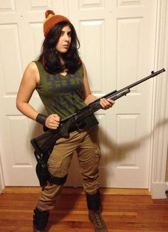 """Another pinner said """"Cobb Halloween costume with my own personal Vera. Sporting my homemade knit cap, gaiters, and modified Blue Sun shirt from Think Geek. Firefly Costume, Firefly Cosplay, Geek Costume, Epic Cosplay, Cosplay Outfits, Cosplay Costumes, Costume Ideas, Cosplay Ideas, Steampunk Halloween"""