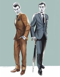 Illustration.Files: Fashion Men