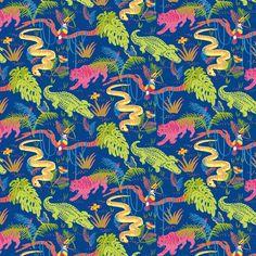 El blog de Lalele: Pattern Selva Tropical