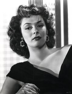 Ruth Roman (1922–1999) was an American actress, principally appearing in dramas.