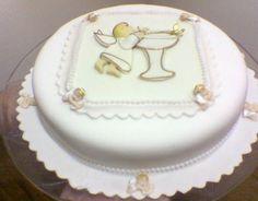 bolo de batizado anjo