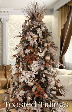 ideas para decorar el rbol de navidad christmas tree designers and holidays - Designer Christmas Tree