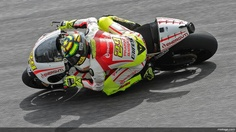 Iannone at private test Sunday 17th February 2013