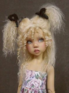 Laryssa - doll by Kaye Wiggs