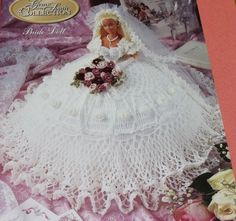 Gems of the South Barbie Bride Doll Crochet Pattern from Annies Attic via Etsy