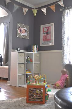 C is for (Play) Corner // writing chapter three Toy Corner, Kids Corner, Colorful Playroom, Playroom Colors, Playroom Paint, Playroom Ideas, Baby Toys, Diy Teepee, Decoration Inspiration