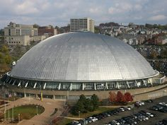 The Igloo, Pittsburgh, PA-aka civic arena and melon arena as seen in Sudden Death