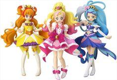 Go! Princess Precure Cuty Figure SET BANDAI Official Toys JAPAN