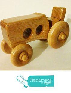 Wooden Toy Farm Tractor from Kent's Krafts http://www.amazon.com/dp/B01A2JUSWI/ref=hnd_sw_r_pi_dp_mypJwb1PFTEGE #handmadeatamazon