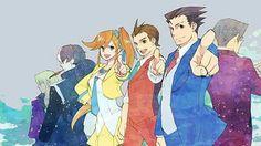 Simon, Athena, Apollo and Phoenix <<< And Klavier and Edgey-poo but ok...