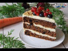 Tort de Morcovi cu Crema de Unt si Mascarpone - YouTube Romanian Desserts, No Cook Desserts, Food Festival, Something Sweet, Tiramisu, Unt, Cooking Recipes, Sweets, Ethnic Recipes