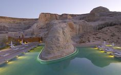 AMANGIRI, Canyon Point, Utah - Made the top 20 places for a honeymoon in bride magazine