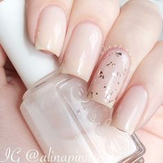 """Essie - """"Mademoiselle"""" and the gorgeous OPI - """"Gaining Mole-Mentum"""""""