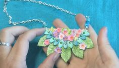Polymer Clay TV & Polymer Clay Productions: How to create using polymer clay and markers to make pretty colorful art jewelry