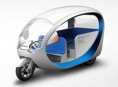 Terra Motors' EV Tricycle Taxi hopes to improve air quality in cities in Southeast Asia