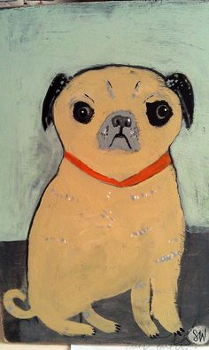 Pug by oswald flump, via Flickr