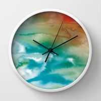 Wall Clock featuring From Pain... by Arte Cluster I Arte Cluster Project *Awareness through Art* I Thanks for your support ! I All wallclocks now 20% Off