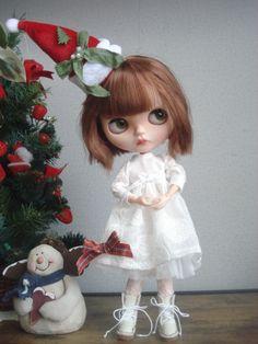 ◆ ブライスちゃん Outfit   ホワイトクリスマスセット  12点 ◆_画像4